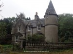 Gate lodge in Scotland,UK