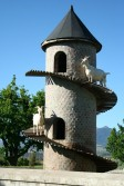 Fairview goat tower in Paarl