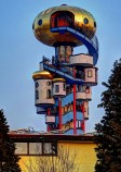 Hundertwasser Kuchlbauer Tower in Germany