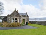 Gate lodge of Kames Castle in Rothesay, Scotland