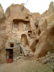 A rock house.in Kandovan, Iran