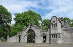 Gate lodge of Burleigh Castle in Scotland