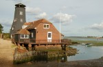 Langstone Mill is on the edge of the Chichester harbor.