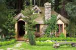 Romantic tiny cottage