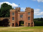 Gatehouse to Lullingstone Castle in Kent.