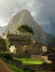 Machu Picchu is a city of the Incas in Peru