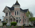 Old Victorian House, the Pink Lady