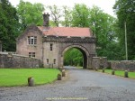 Gate lodge of castle Sorn in Scotland
