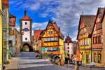 Rothenburg ob der auber in Germany