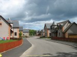 New development area in Johnshaven, Scotland