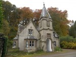 Gate lodge in Scotland
