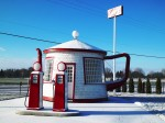 Gas station the teapot in Zillah