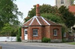The tollhouse where fees were collected for crossing the river Thame