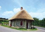 Tol huis in Chard, Somerset, Great Britain