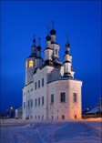 A Totma church in Totma in Russia