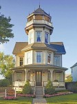 The Tower Cottage, a bed and breakfast is a meticulously restored Queen Anne Victorian  Inn.