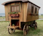Gipsy caravan of Sedar Ayres Wagon Co.