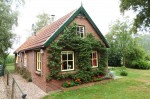 A characteristic and cozy cottage in a village in the Netherlands
