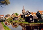 Volendam, fishing village in North Holland.