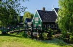 The  Zaanse Schans in the Netherlands