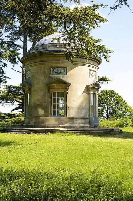 The Rotunda, designed by 'Capability' Brown and built 1754