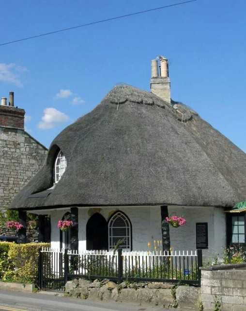 Toll house in Staverton, Wiltshire