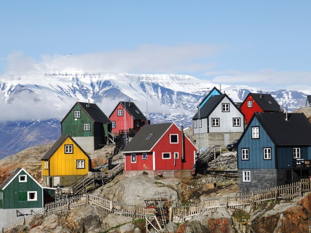 Town in northwestern Greenland