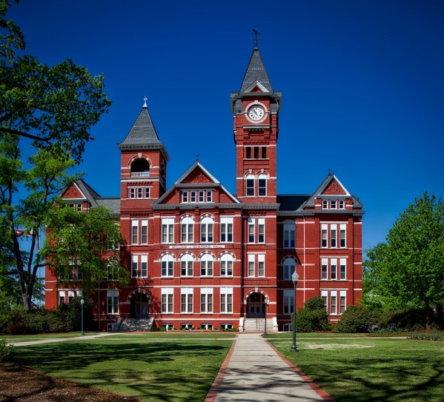 William Samford hall in Auburn, Alabama