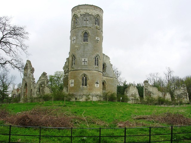 Wimpole's folly in Cambridgeshire