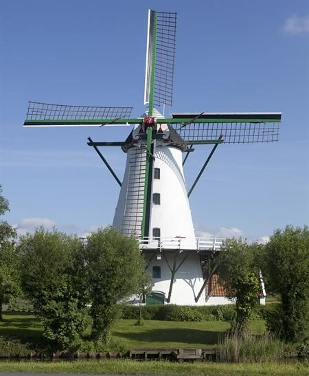 Round rack mill in Holland