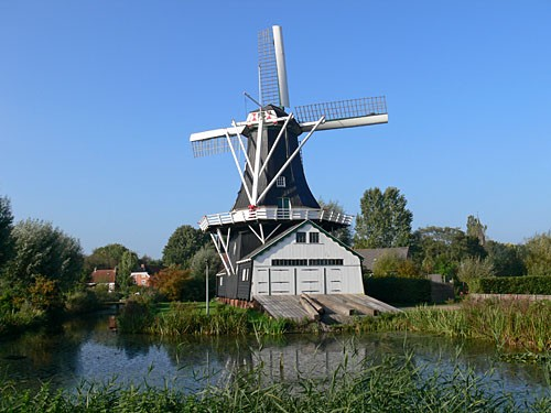 Windmolen Fram in Woltersum